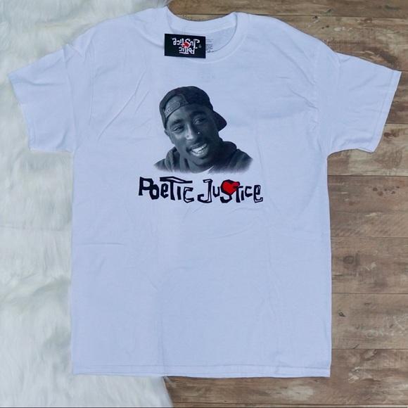 323dd23d6c88 Shirts | 2pac Tupac Shakur Poetic Justice Tshirt | Poshmark